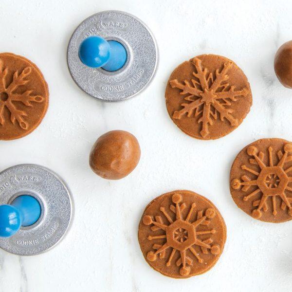 Nordic Ware Frozen Snowflakes Cookie Stamps