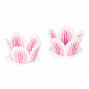 Patisse Cupcakevorm roze/wit