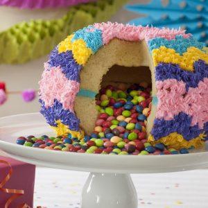 Pinata cake van Nordic Ware