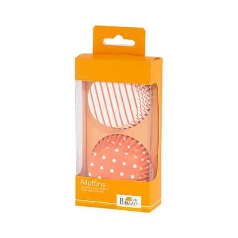 Cupcakevormen Colour Splash Oranje