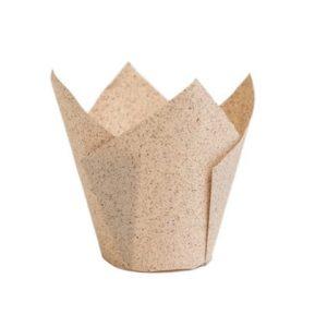 Papieren Muffinvorm Tulp Caisses Cacao