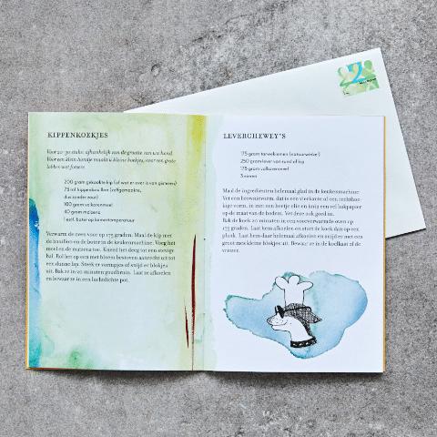 Receptenboek hondenkoekjes
