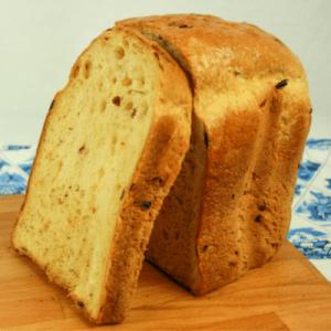 Broodmeel met italiaanse kruiden om een brood te bakken