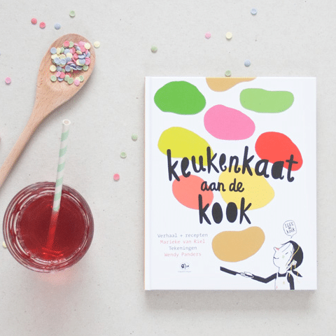 Keukenkaat aan de Kook Kinder Kookboek