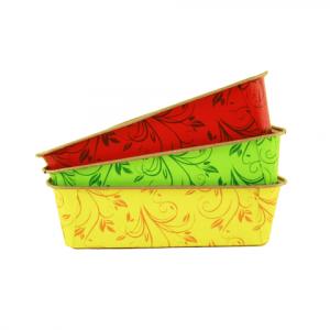 Papieren Bakvorm Gekleurd