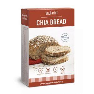 Sukrin Chiabrød glutenvrij brood