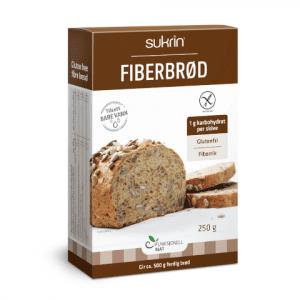 Sukrin Fiberbrød glutenvrij broodmix