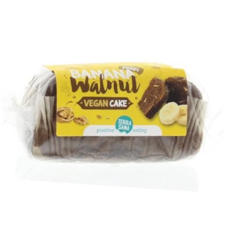 Vegan Cake Banaan-Walnoot