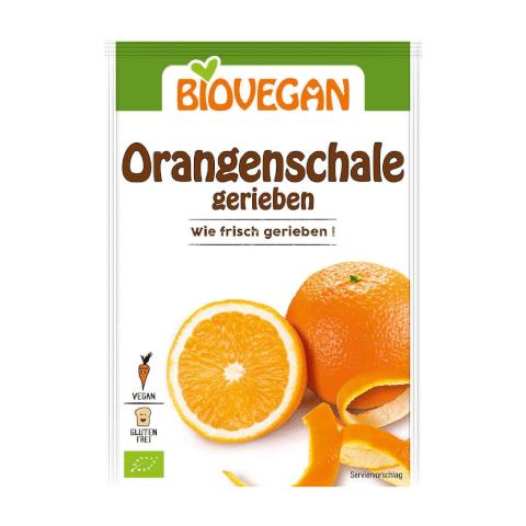 Sinaasappelschil Geraspt