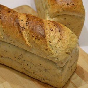 Zonnepit broodmeel van de molen Licht meergranen brood