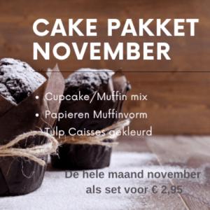 cakepakket november