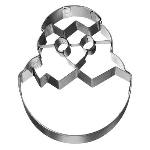 Uitsteekvorm eendje in ei