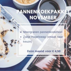 Pannenkoekenpakket november