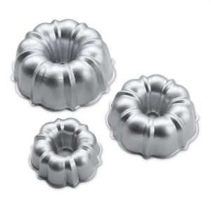 3PC Formed Bundt Pan