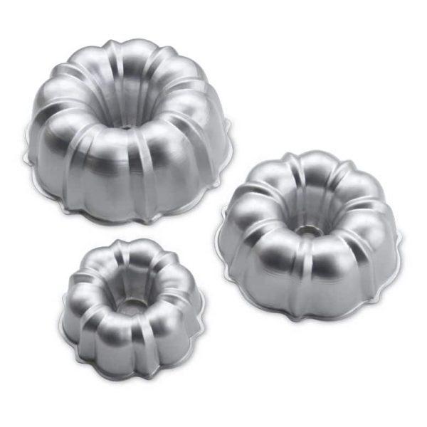 3PC Formed Bundt Pan