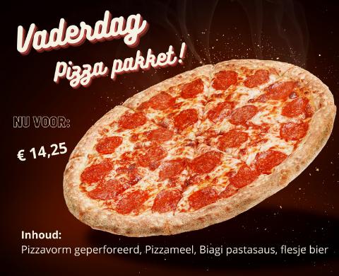 "Vaderdagpakket ""Pizza"""